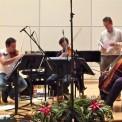 Grabación CD Cuartetos de cuerda, 2010