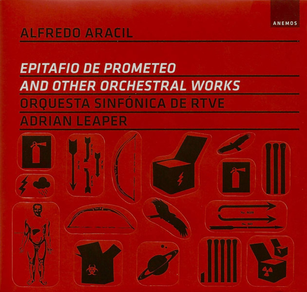 Alfredo Aracil. Epitafio de Prometeo and other orchestral works